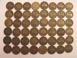 France. Lot De 48 Pièces De 50 Centimes. 1921/1928. Bon Pour, Chambres De Commerce Industrie - G. 50 Centesimi