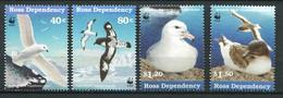 287 - TERRE DE ROSS (Nle Zelande) 1997 - Yvert 56/59 - WWF Oiseau De Mer - Neuf ** (MNH) Sans Trace De Charniere - Nuevos