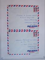 ALGERIE EA 2X  POSTE AUX ARMEES 12-9-1962 Surcharge - Algeria (1962-...)