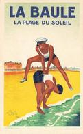 LA BAULE ,  La Plage Du Soleil , Devambez 1928 - La Baule-Escoublac