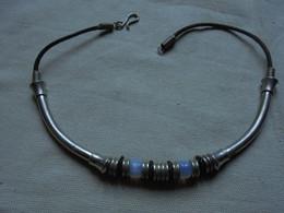 Vintage - Bijou Fantaisie - Collier Ras Du Cou Années 70 - Necklaces/Chains