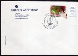 Argentina - 2001 - Cachet Spécial - Coupe AT&T - Buenos Aires Lawn Tennis Club - A1RR2 - Tennis