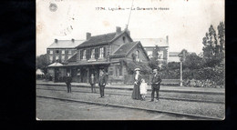 782-LANDELIES-gare Station Statie Vers Le Reseau-Hermans 1774 - Montigny-le-Tilleul