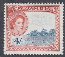 Gambia, Scott #164, Mint Hinged, Elizabeth II, Issued 1953 - Gambia (...-1964)