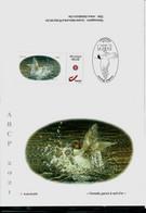 Carte De Voeux 2021 ( Femelle Garrot à Oeil D'or ) + Duostamps Neuf  (**) - 1985-.. Birds (Buzin)