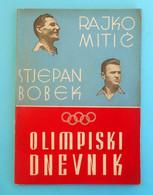 OLYMPIJSKI DNEVNIK - Yugoslavia Football Team On Olympic Games 1952 Helsinki Old Book* Olympia Olympiade Jeux Olympiques - Libros