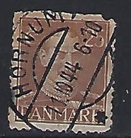 Denmark  1942-46  Christian X (o) Mi.272 (Cancelled HORNUM) - Used Stamps