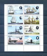 EYNHALLOW SHEET SHIPS AND BOATS MNH - Ships