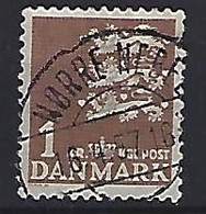 Denmark  1946-69  Arms  (o) Mi.289x (cancelled NORRE NEBEL) - Used Stamps