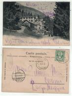 Suisse // Grisons // Somvix. Tenigerbad  (pli D'angle En Bas à Droite) - GR Grisons