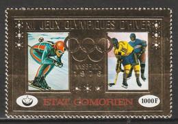 COMORES - Poste Aérienne N°103 ** (1976) J.O D'hiver à Innsbruck - Comores (1975-...)
