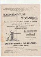 69-V.Vermorel...Badigeonnage Mécanique...Villefranche-sur-Saône..(Rhône).. - Agricoltura