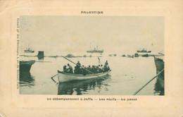 CPA Jaffa - Le Débarquement - Les Récifs - La Passe - Edité Par Conseil Gé Des Pélerinages Paris - Palestina