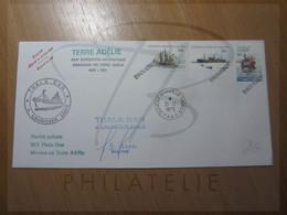 VEND BELLE LETTRE DU TERRITOIRE ANTARCTIQUE AUSTRALIEN , DU THALA DAN !!! (a) - Lettres & Documents