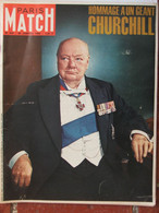 PARIS MATCH N°825 (30 Janv 1965) Hommage à Churchill - General Issues