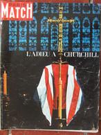 PARIS MATCH N°826 (6 Fév 1965) L'adieu à Churchill - General Issues