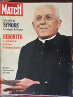 PARIS MATCH N°1169 (2 Oct 1971) Evêques De France - Glenda Jackson - Hirohito - Brandt/Brejnev - General Issues