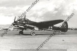 PHOTO AVION RETIRAGE REPRINT    JUNKER JU 88 - Aviation
