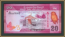 Sri Lanka 20 Rupees 2015 P-123 (123c) UNC - Sri Lanka