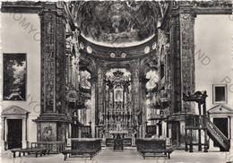 CARTOLINA  PARMA,  EMILIA ROMAGNA,CHIESA MAGISTRALE DI S.MARIA DELLA STECCATA-ALTARE MAGGIORE (sec. XVI)  VIAGGIATA 1955 - Parma