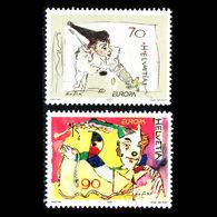 (!)  EUROPA CEPT De 2002  Thème Du Cirque Circus SUISSE Y&T 1719/1720  Neuf(s) ** Mnh - 2002