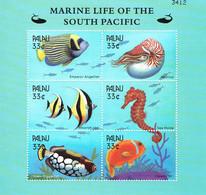 Palau 2000 Scott # 565 M/S MUH - Marine Life Of The Pacific - Palau