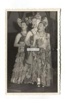 Walmer, Deal, Kent Photographer - Men In Drag Costumes, Theatre, Drill Hall - C1950's Photograph - Persone Anonimi