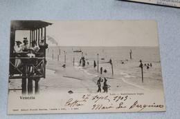 Cpa 1903, Venise, Venezia, Lido, Stabilimento Bagni, Italie - Otros