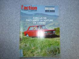 L'ACTION Automobile Mai 1969, FIAT 128, Bretagne ; REV03 - Auto/Motorrad