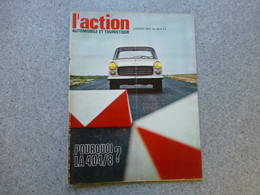 L'ACTION Automobile Janvier 1968, PEUGEOT 404 / 8 ; REV03 - Auto/Motorrad