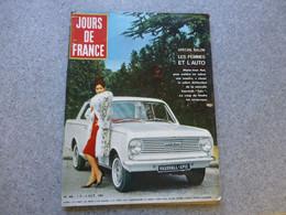 Jour De France Octobre 1963, Automobile Vauxhall EPIC, Spécial SALON Les Femmes Et L'auto MJ NAT  ; REV03 - Auto/Motorrad