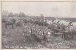 Feldlazarett Vor Dem Abmarsch - Autres Communes