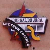 JOURNAL DU JURA - SUISSE - LECTEUR COMBLE  - NEWSPAPER - ZEITUNG - GIORGNALE - SCHWEIZER - EGF -          (BLEU) - Médias
