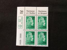 2020 ** Coin De Feuille Marianne Célèbre Les 50 Ans De L'imprimerie Des Timbres Poste De Boulazac - 2018-... Marianne L'Engagée