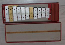 Ancien Xylophone Dans Sa Boîte D'origine VAN DE VELDE TOURS Allemagne - Musical Instruments