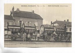 70 - PORT-d' ATELIER ( Haute-Saône ) - MOREL-ROMARY, Vins En Gros. Carte TOP - Other Municipalities