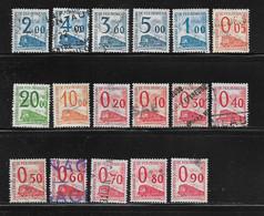 FRANCE  ( FCPT - 25 ) 1960    N° YVERT ET TELLIER  N° 31/47 - Otros