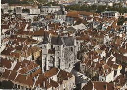 CHAUMONT - CPSM : Centre Et Basilique St Jean - Vue Aérienne - Chaumont