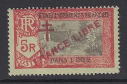 French India, Scott 176 (Yvert 170), MLH - Neufs