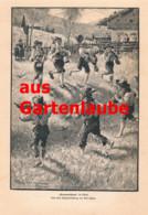 788 Karl Wolf Grasausläuten Butterschnölln Tirol Viehauftrieb Artikel 1901 !! - Other