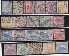 Belgie  .   OBP  .   TR  58/78       .   O   .   Gebruikt    .   /  . Oblitéré - 1915-1921