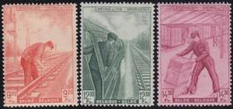 Belgie  .   OBP  .    TR 260/262     .   *   .    Ongebruikt Met Gom   .   /  .   Neuf Avec Gomme Et Charnière - 1942-1951