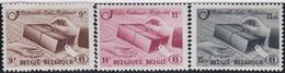 Belgie  .   OBP  .    TR 301/303    .   *   .    Ongebruikt Met Gom   .   /  .   Neuf Avec Gomme Et Charnière - 1942-1951