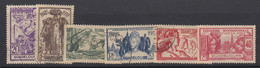 Guadeloupe, Scott 148-153 (Yvert 133-138), Used - Used Stamps