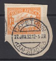 South Africa, Scott C6 (SG 41), Used On Piece - Posta Aerea