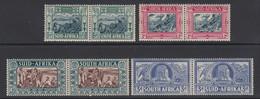 South Africa, Scott B5-B8 (SG 76-79), MLH/HR - Nuovi