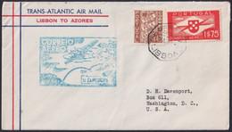 F-EX22019 PORTUGAL TRANS-ATLANTIC 1939 FIRST FLIGHT LISBOA - AZORES. - Briefe U. Dokumente
