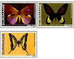 Ref. 305776 * MNH * - SURINAME. 2013. BUTTERFLIES . MARIPOSAS - Butterflies