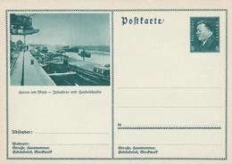 Entier Illustre Neuf 1931 Hanau Am Main - Interi Postali