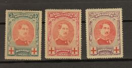 Belgie  Ocb Nr :  132 - 134 * MH   (zie Scan) - 1914-1915 Red Cross